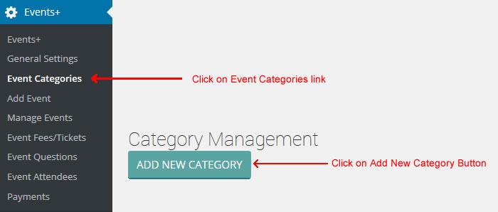 wordpress calendar event categories