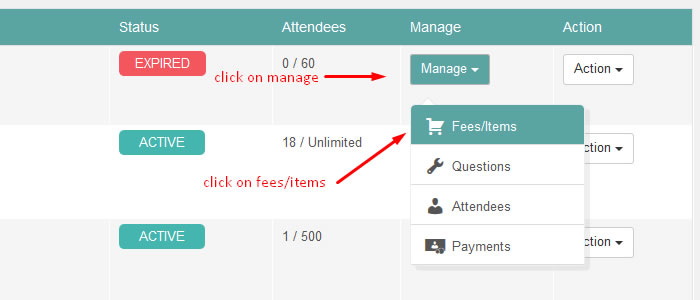 wordpress event coupons