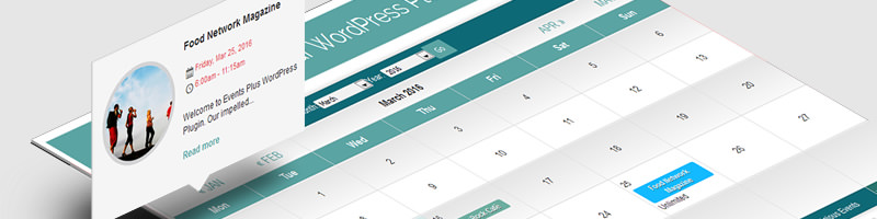 calendrier wordpress