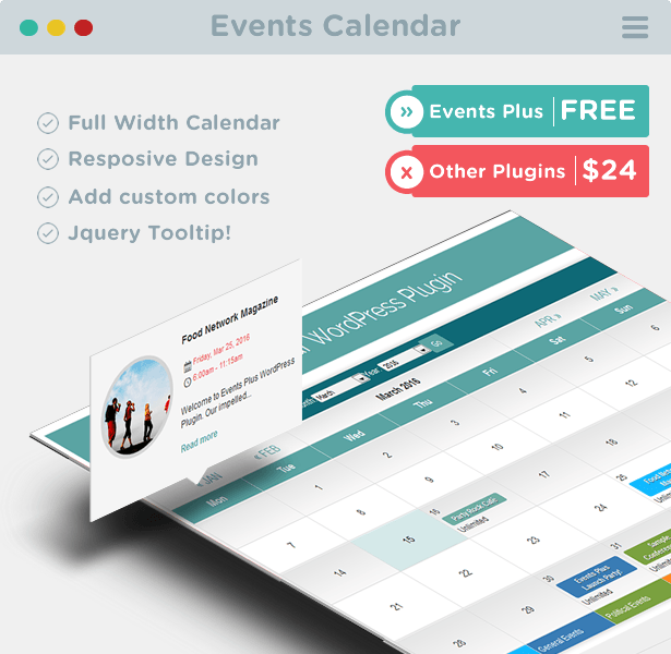 Calendario de Eventos para WordPress