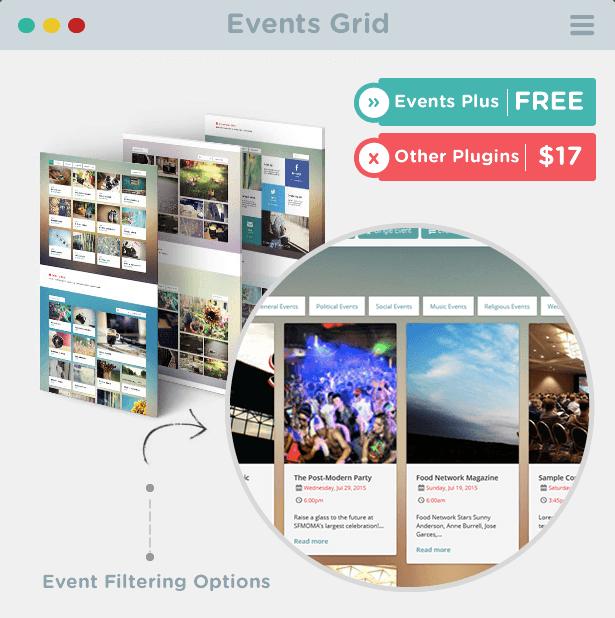 Events Grid for WordPress - Events WordPress Plugin