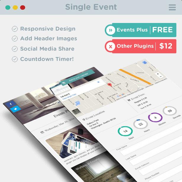 wordpress single event