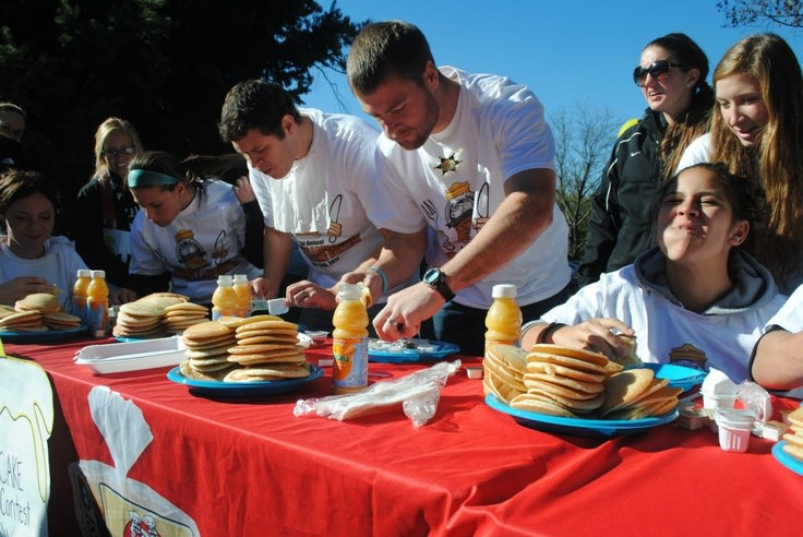Pancake Eating Competition