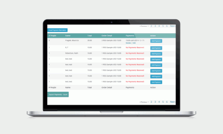 wordpress events management system