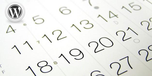 WordPress Calendar Must Haves