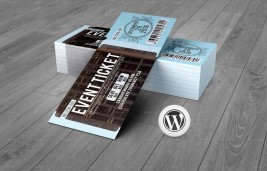 WordPress Ticket System for Events